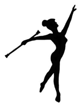 majorette silhouette at getdrawings com free for personal use rh getdrawings com drum majorette clipart majorette baton clipart