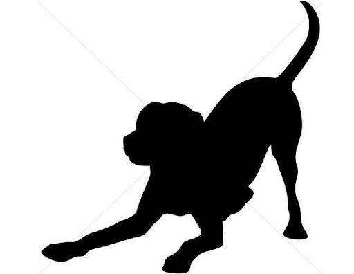 512x396 This Would Make A Neat Tattoo! Labrador Retriever Silhouette