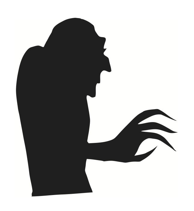 646x700 Halloween Window Silhouettes Free Download Halloween Window