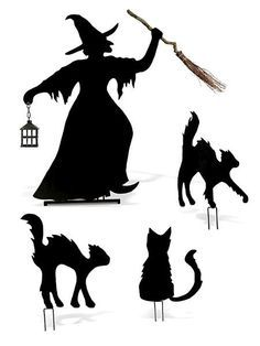 236x314 Halloween Witch Silhouette Printables Witch Silhouette, Witches