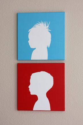 290x434 Tutorial On How To Make Your Own Canvas Silhouettes Christina