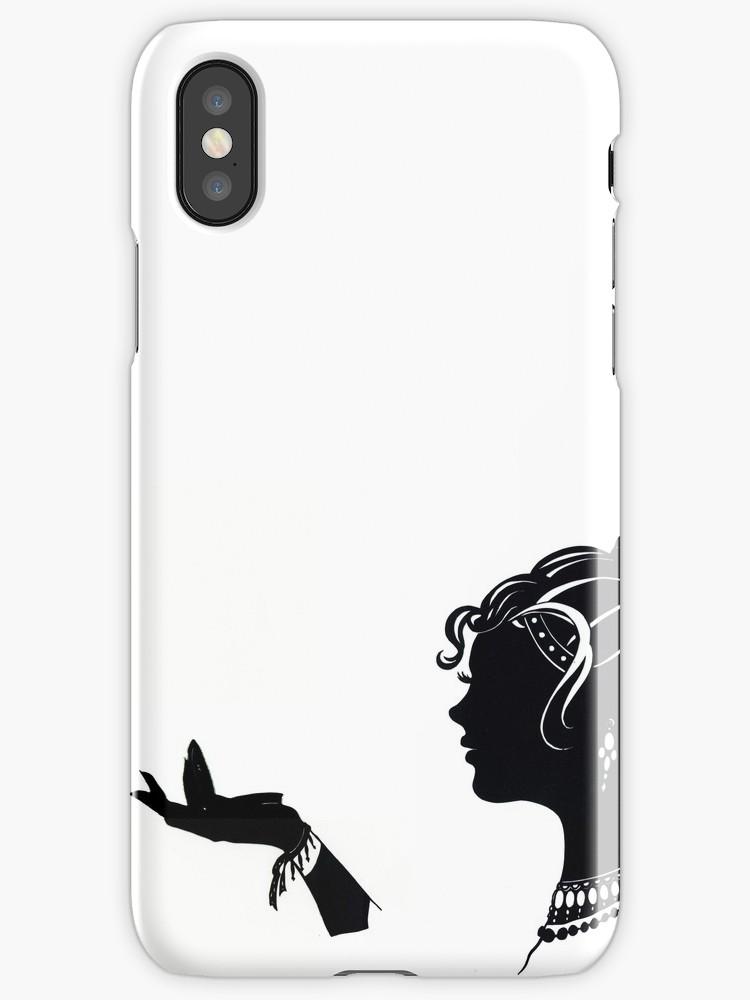 750x1000 Vanity , Fashion Illustration Beauty Paper Cutout Black And White
