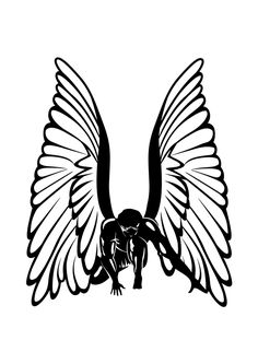 236x333 Black Angel Wings Black Angel Wings, Black Angels And Angel Wings