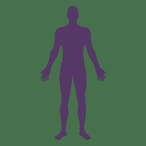 512x512 Male Body Medical Pose