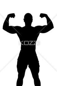183x275 Male Silhouette Male Silhouette For Hen Party Cake