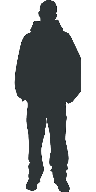 320x640 Outline, People, Man, Silhouette, Person, Human, Body