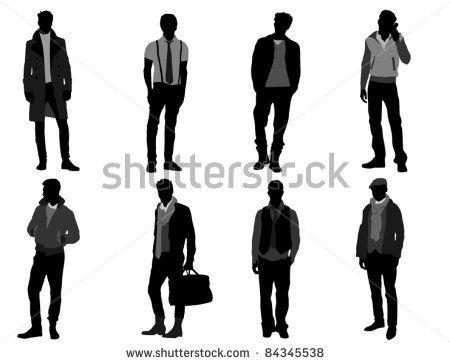 450x363 People Big Set 2 Stock Vector 173974397 Shutterstock Painting