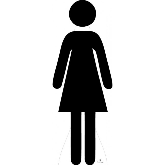 650x650 16 Woman Silhouette Icon Images