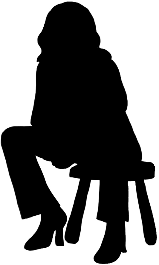 532x886 Silhouettes Of People