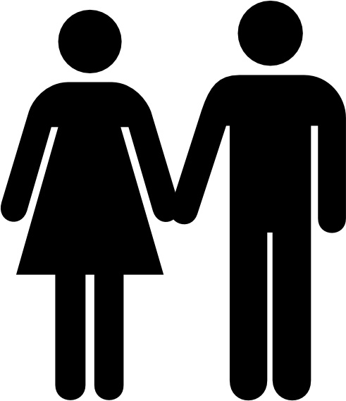 491x569 Man Woman Silhouette Clip Art Different Occupations Man And Woman