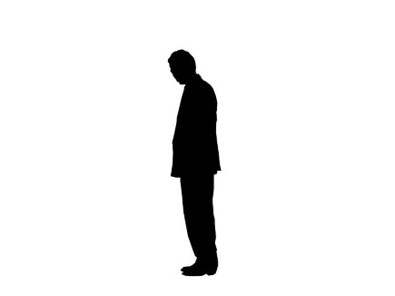 435x326 List Of Synonyms And Antonyms Of The Word Standing Silhouette