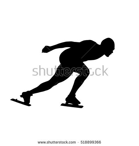 450x470 Male Figure Skating Clipart Collection