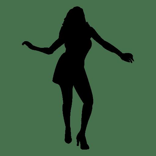 512x512 Male Figure Skating Silhouette