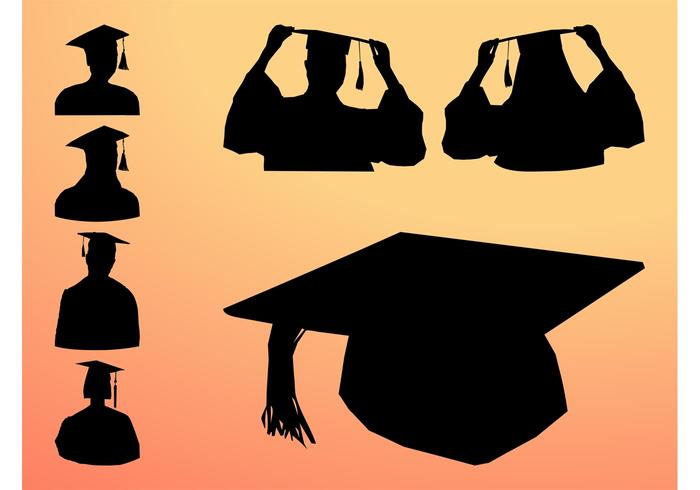 700x490 Graduation Silhouette Graphics
