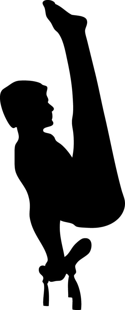 400x986 Image Result For Male Gymnastics Silhouette Camp Ideas