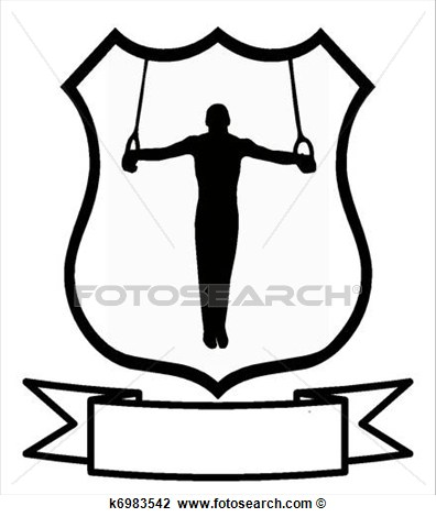 396x470 Male Gymnast Clipart