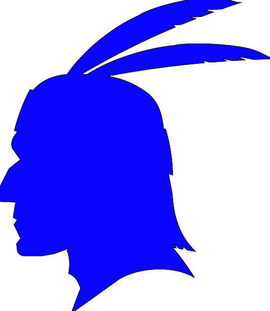 529x609 Native American, Profile, Outline, Indian, Feathers, Downs, Male