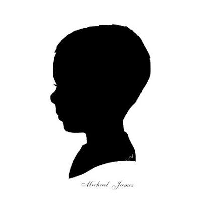 400x400 Male Profile Silhouette Clipart