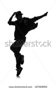 236x372 Male Jazz Dancers Male Jazz Dancer Silhouette