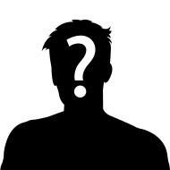 190x190 Stock Photo 49184870 Male Silhouette Profile Picture With Question