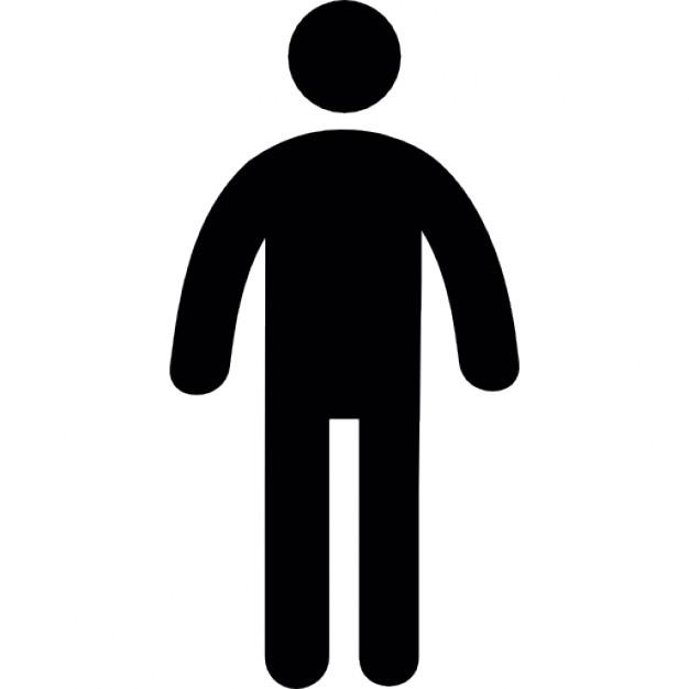 626x626 Free Person Silhouette Icon 180610 Download Person Silhouette