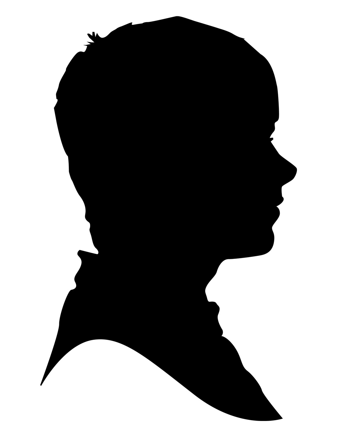 Male Silhouette Outline at GetDrawings.com | Free for personal use ...