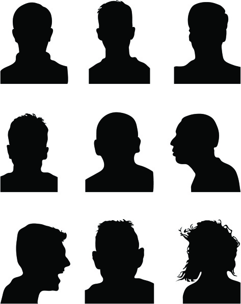 473x598 Man Silhouette Free Vector Download (7,741 Free Vector)