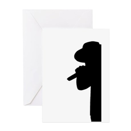 460x460 The Music Man Greeting Cards