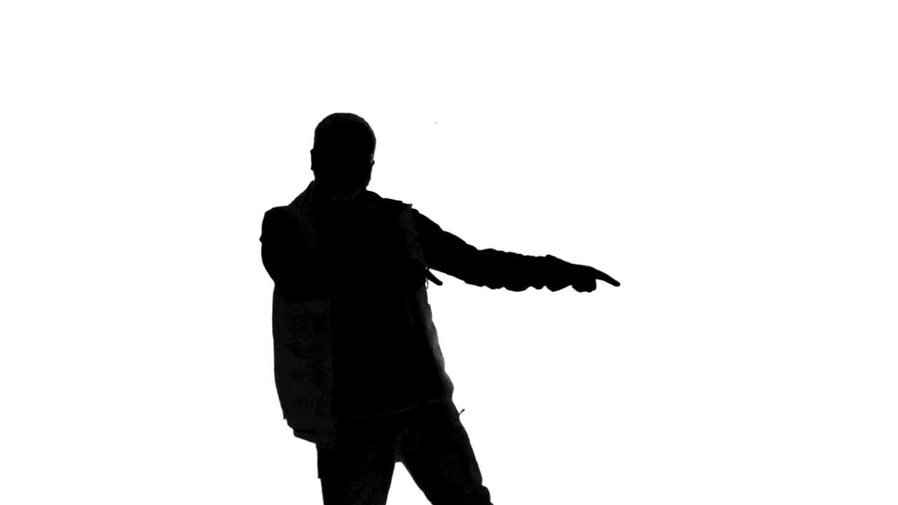 1280x720 Silhouette Of Man Dancing 01 Free Stock Footage (4k)