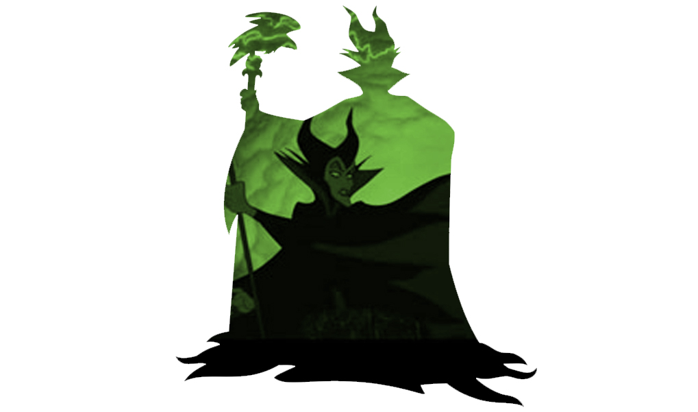 1019x601 Maleficent Silhouette Standing By Cmwatts