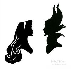 236x228 Sleeping Beauty (Briar Rose And Maleficent) Handcut Disney