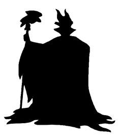 236x271 Silhouette Of Disney Malificent