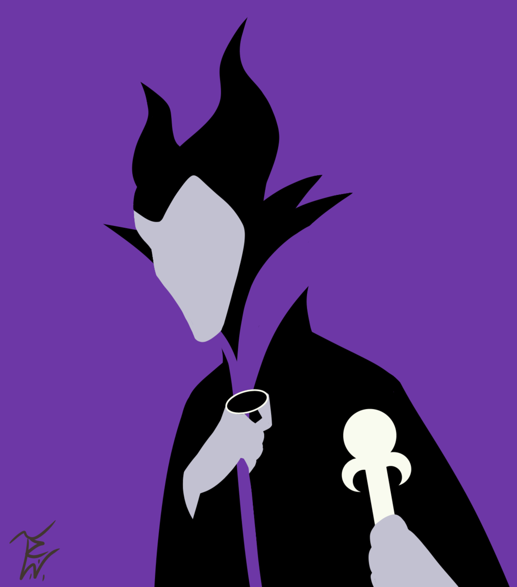 1024x1162 Disney Villains Maleficent (Minimalist Redux) By Taiylorwallace