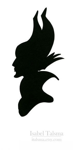 283x582 Evil Queen Silhouette. Perfect Stencil To Use For A Pumpkin