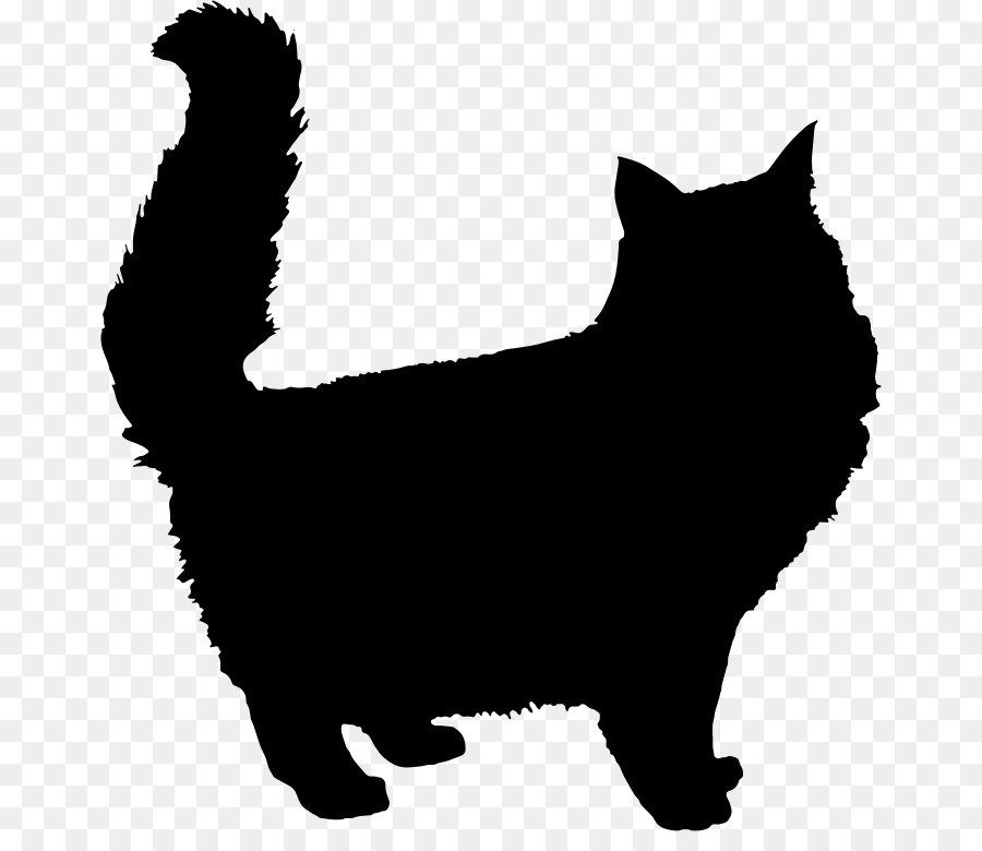 900x780 Persian Cat Kitten Silhouette Clip Art