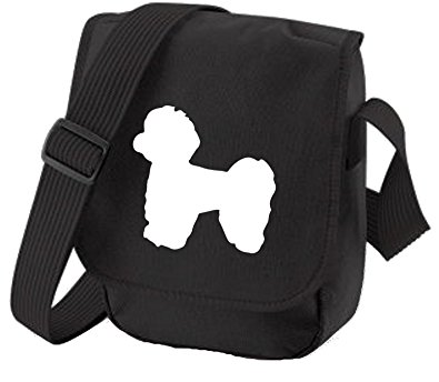395x344 Maltese Terrier Dog Bag Reporter Bag Shoulder Bag Maltese Terrier