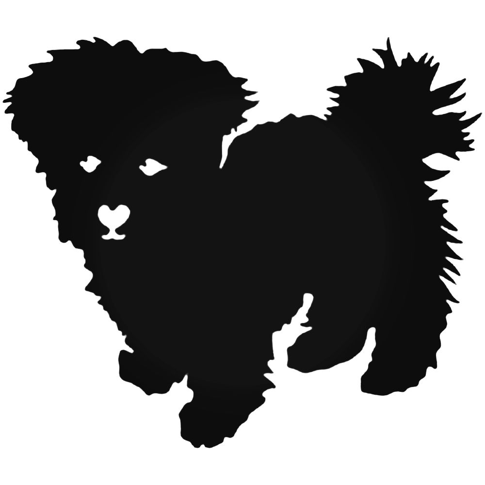 1000x1000 Dog Puppy Decal Sticker