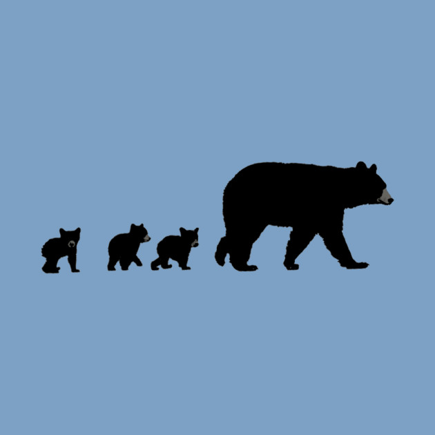 630x630 Mama Bear And Her Cubs