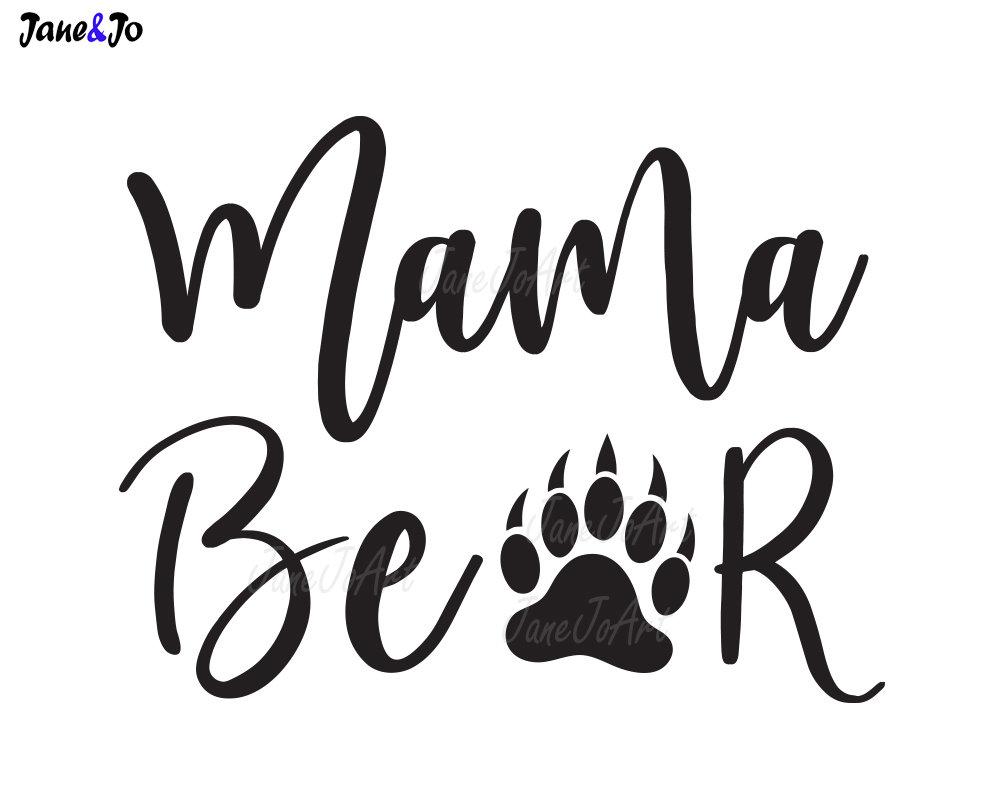 1000x800 Mama Bear Svg,mama Mom Saying Svg,vector,mama Bear Clipart ,clip