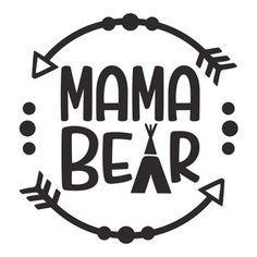 236x236 Mama Bear Logo Bear Logo, Silhouette Design And Silhouette