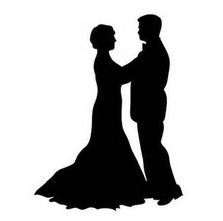 Man And Woman Dancing Silhouette