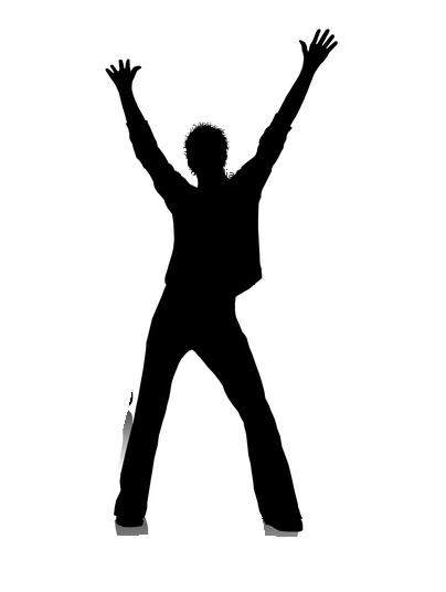 404x536 Man Dancing Clipart