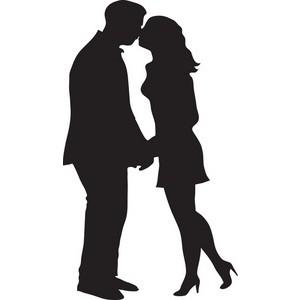 300x300 Kisses Clipart Man Woman