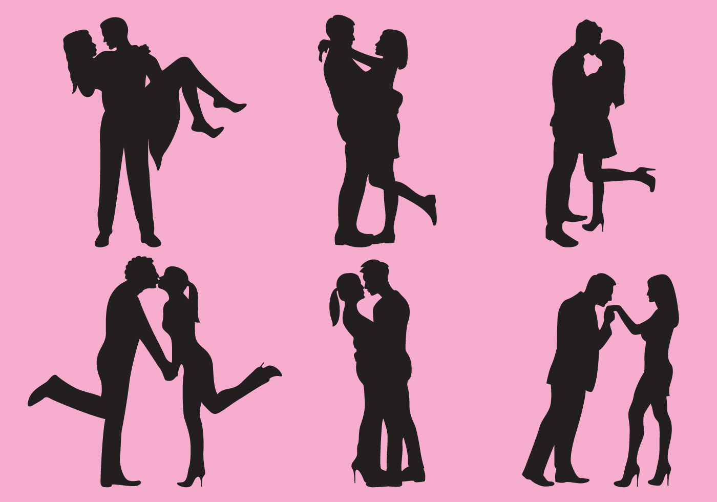 1400x980 Woman And Man Love Silhouettes
