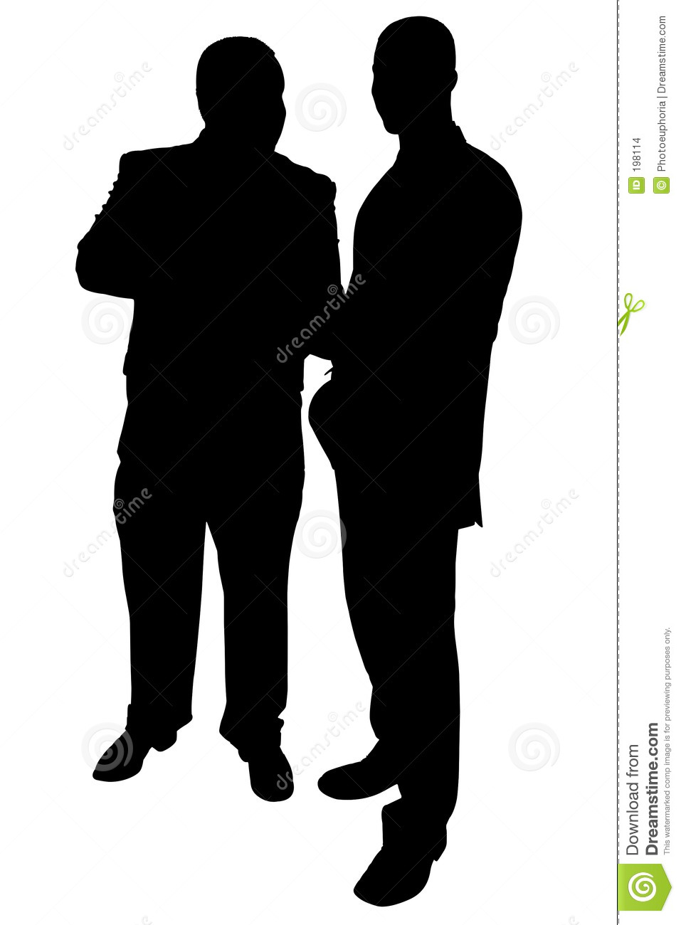 957x1300 Two People Talking Silhouette Clipart