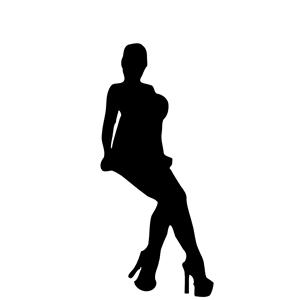 300x300 Woman Silhouette 30 Clipart, Cliparts Of Woman Silhouette 30 Free