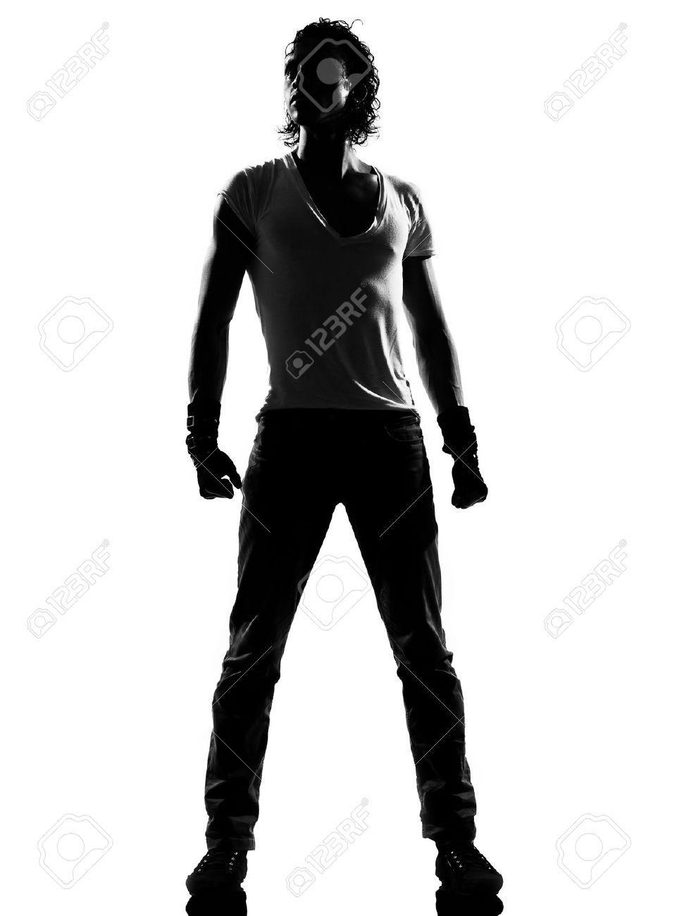 971x1300 Man Dancing Silhouette