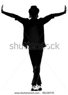 236x330 Full Length Silhouette Of A Young Man Dancer Dancing Funky Hip Hop