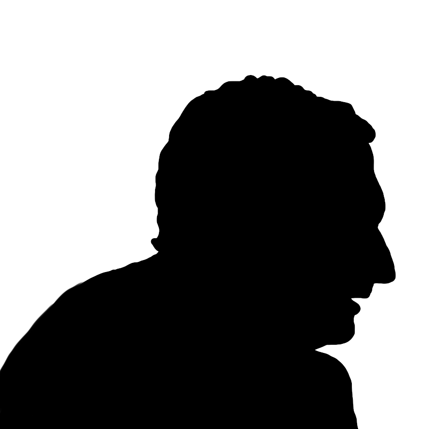 875x886 Face Silhouettes Of Men, Women And Children