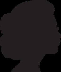 258x300 9178 Free Vector Face Profile Silhouette Public Domain Vectors